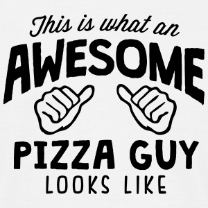 awesome pizza guy looks like - Men's T-Shirt