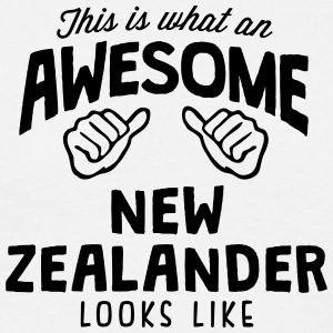 awesome new zealander looks like - Men's T-Shirt