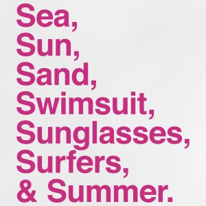 Sea Sun Sand Surfers and Summer T-shirts - Baby-T-shirt
