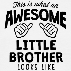 awesome little brother looks like - Men's T-Shirt