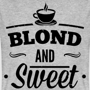Blonde and sweet coffee 1 T-Shirts - Men's Organic T-shirt