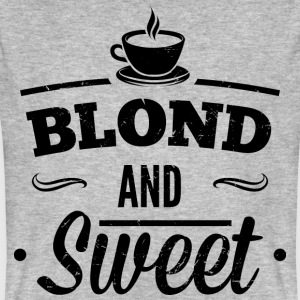 Blonde and sweet coffee 1 dd T-Shirts - Men's Organic T-shirt