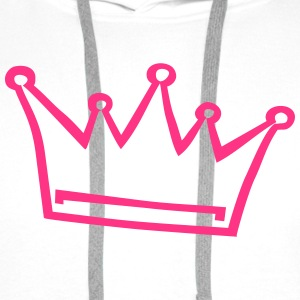 crown, princess, prince Hoodies & Sweatshirts - Men's Premium Hoodie