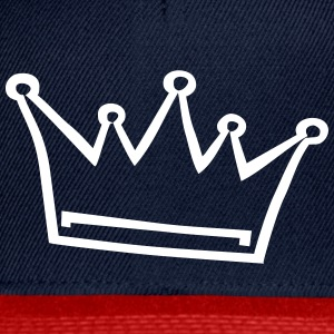crown, princess, prince Caps & Hats - Snapback Cap