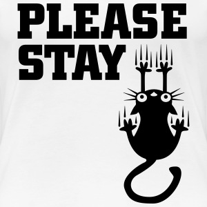 Please stay T-Shirts - Women's Premium T-Shirt