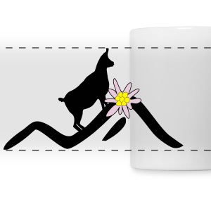 hiking - mountain Mugs & Drinkware - Panoramic Mug