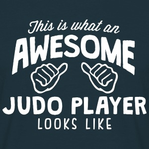 awesome judo player looks like - Men's T-Shirt