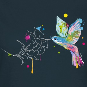 A hummingbird and a flower T-Shirts - Women's T-Shirt