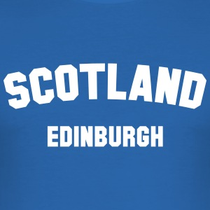 EDINBURGH T-shirts - Herre Slim Fit T-Shirt