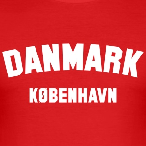 COPENHAGEN T-Shirts - Men's Slim Fit T-Shirt
