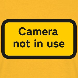 Camera not in use - Men's T-Shirt