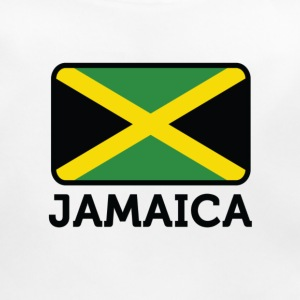 National Flag of Jamaica Accessories - Baby økologisk hagesmæk