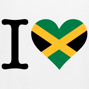 I Love Jamaica Topper - Singlet for kvinner fra Bella