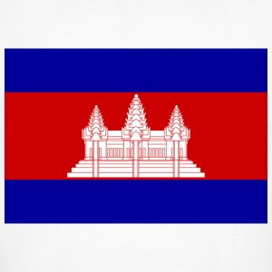 National flag of Cambodia T-Shirts - Men's Organic T-shirt