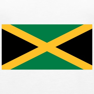 National Flag of Jamaica Topit - Naisten premium hihaton toppi