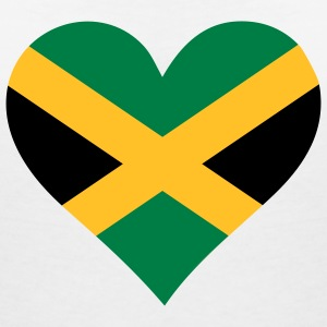 A heart for Jamaica T-Shirts - Women's V-Neck T-Shirt