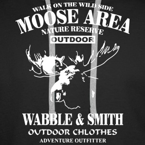 Moose Nature Reserve Hoodies & Sweatshirts - Men's Premium Hoodie