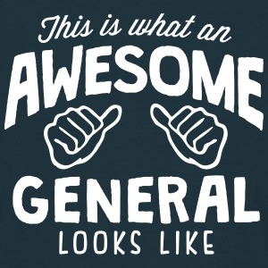 awesome general looks like - Men's T-Shirt