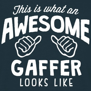 awesome gaffer looks like - Men's T-Shirt