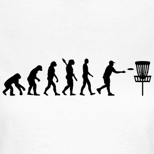 Evolution Disc golf T-Shirts - Frauen T-Shirt