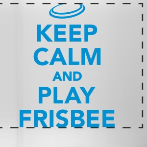 Keep calm and play Frisbee Tassen & Zubehör - Panoramatasse