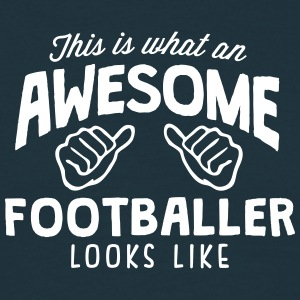 awesome footballer looks like - Men's T-Shirt