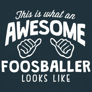 awesome foosballer looks like - Men's T-Shirt