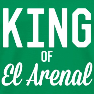 King of El Arenal T-shirts - Mannen Premium T-shirt