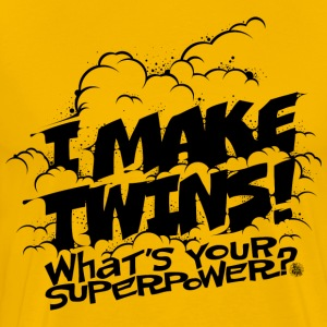 I make twins Tee shirts - T-shirt Premium Homme
