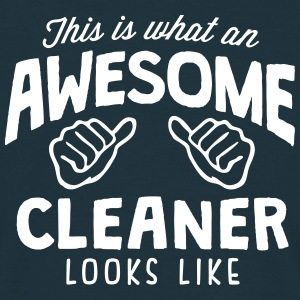 awesome cleaner looks like - Men's T-Shirt