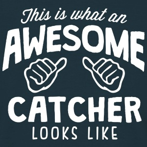awesome catcher looks like - Men's T-Shirt