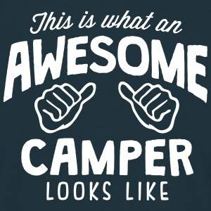 awesome camper looks like - Men's T-Shirt