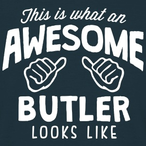 awesome butler looks like - Men's T-Shirt