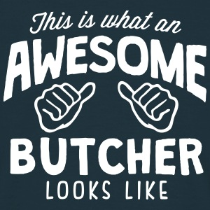 awesome butcher looks like - Men's T-Shirt