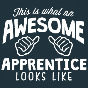 awesome apprentice looks like - Men's T-Shirt