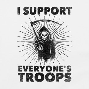 I Support Everyone's Troops (Political /Statement) Bags & Backpacks - Shoulder Bag