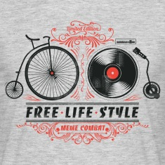 Heather grey Free-Life-Style T-Shirts