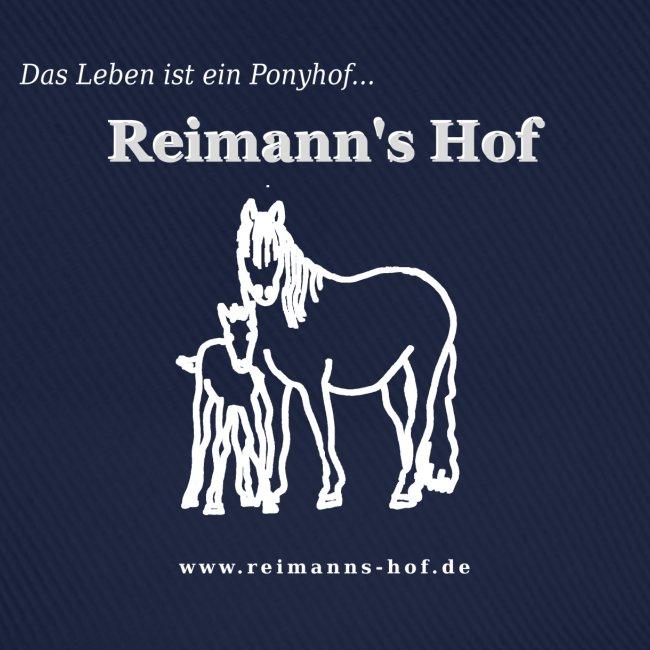 Base-Cap Reimann's Hof 'Stute mit Fohlen'