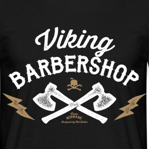 Viking Barbershop - T-shirt Homme