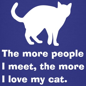 Cat people Shirts - Teenage Premium T-Shirt