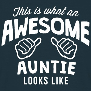 this is what an awesome auntie looks lik - Men's T-Shirt