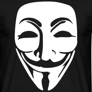 Anonymous Mask T-Shirt - Men's T-Shirt
