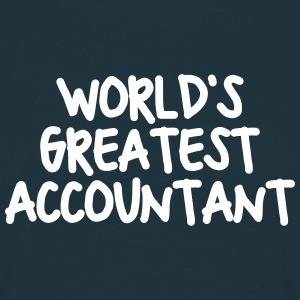 worlds greatest accountant - Men's T-Shirt