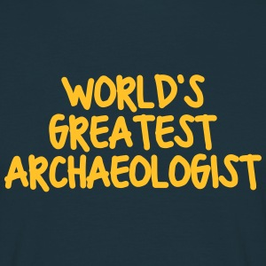 worlds greatest archaeologist - Men's T-Shirt