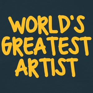 worlds greatest artist - Men's T-Shirt