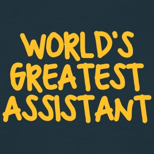 worlds greatest assistant - Men's T-Shirt