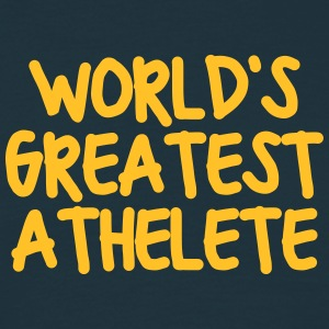 worlds greatest athelete - Men's T-Shirt