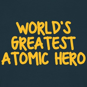 worlds greatest atomic hero - Men's T-Shirt