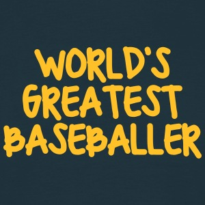 worlds greatest baseballer - Men's T-Shirt