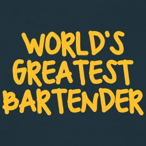 worlds greatest bartender - Men's T-Shirt